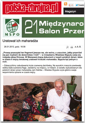 More Coverage in Polish Press - Polska Zbrojna