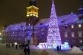 Beautiful night in Warsaw