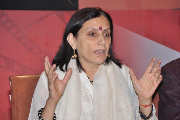 Anu Radha answers questions
