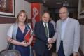 Ambassador with Director News Doordarshan & Director Polish Institute